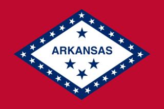 Bandiera dello Stato dell'Arkansas Napoleon